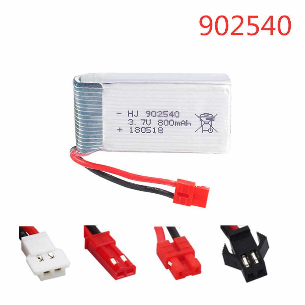 リポバッテリー 3.7 v 800 mah 902540 syma の X5C X5S X5SC X5HW X5UW X5SW CX30 M68 X500 X800 HJ818 HJ819 rc ドローンスペアパーツ 1 個