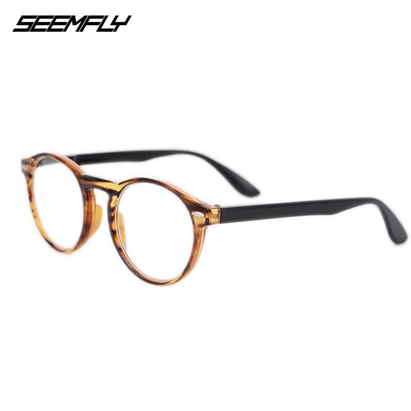 Seemfly Reading Glasses Retro Fashion Men Women Anti-fatigue Hyperopia Eyeglasses Optical Spectacle Goggle Unisex Eyewear New