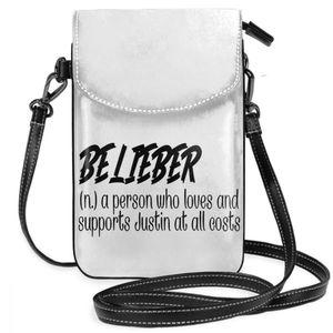 Image 5 - ジャスティンビーバーショルダーバッグ検証belieber革バッグ高品質パターン女性のバッグクロスボディ女性十代財布