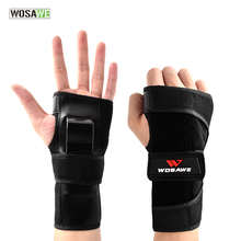WOSAWE Wrist Support Hand Protection Skiing Skating Roller Snowboarding hand Guard Palm Protection for women boy and girl