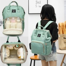Mommy Package More Function Capacity Handbag Both Shoulders Backpack Out Portable Baby Package