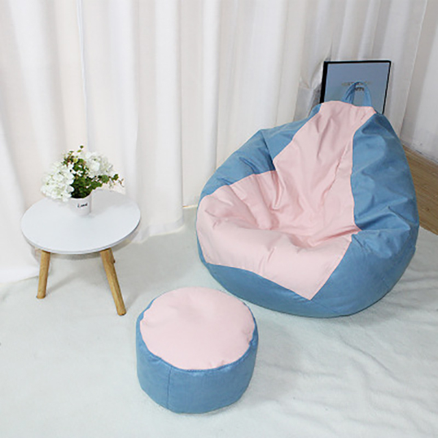 Solid Color Lazy Sofa Cover 4