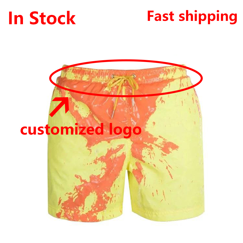 Closeout Deals2020 New Amazing Color Changing Swim Trunks Swimwear Swimsuit Slip Men Swimming Shorts for Men's Beach Swim Male Briefs Sexy Gay