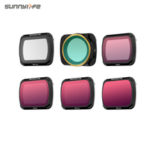 Sunnylife Lens Filter for DJI Mavic Air 2 Drone Filters UV CPL ND 4 8 16 32 PL set for DJI Mavic Air 2 Drone Camera Accessories