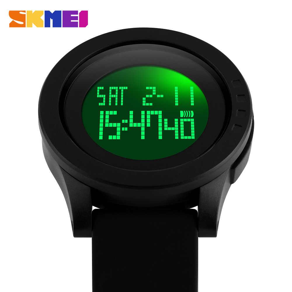 SKMEI hommes Montre numérique chronographe alarme sport montres 5Bar étanche homme Montre-bracelet horloge Montre homme Reloj de los hombres