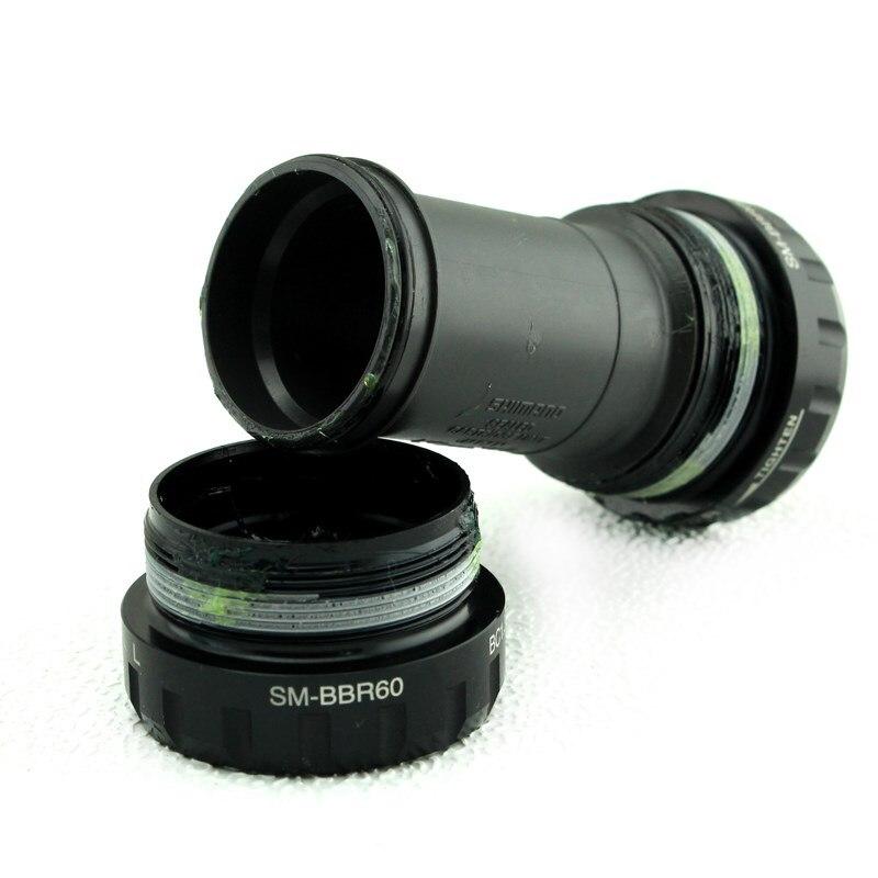 Shimano ULTEGRA 105 R8000 R7000 SM-BBR60 BSA Engish Thread Bottom Bracket BBR60 Central Movement 68mm