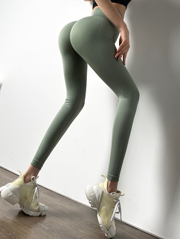 Push Up Seamless Leggings For Fitness High Waist Workout Tights Sport Woman Booty Scrunch Tights Yoga Pants 6