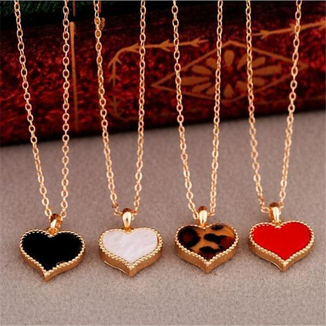 2020 Red Heart Pendant Necklace 4