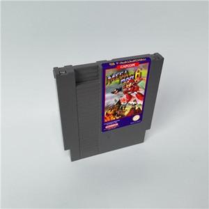 Image 5 - Mega Man 1 2 3 4 5 6 มี 6 ตัวเลือกแต่ละตัวเลือกเพียงOneเกมMegaman 72 Pins 8bitเกม