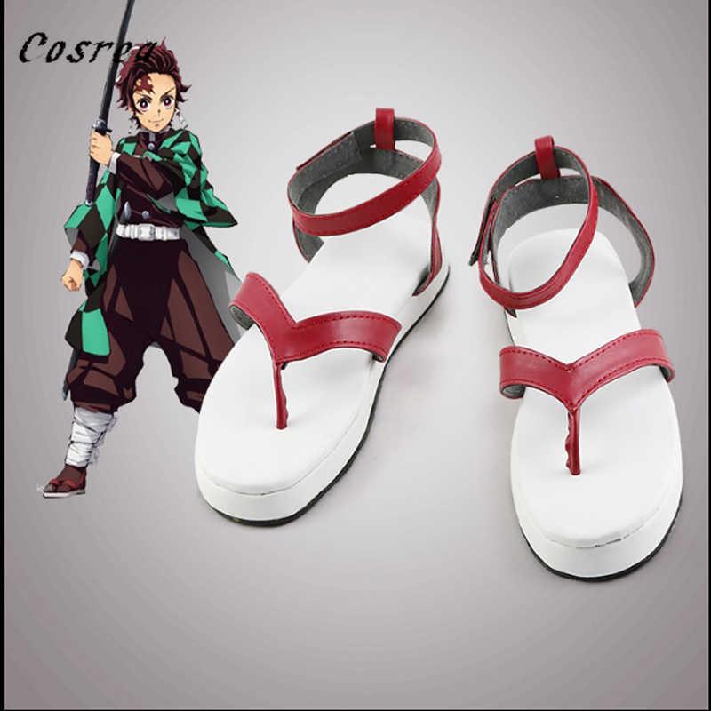 Japanischen Anime Dämon Mörder: Kimetsu keine Yaiba Hibiscus Schuhe Kamado Nezuko Cosplay Schuhe für frauen und Herren Halloween Stiefel