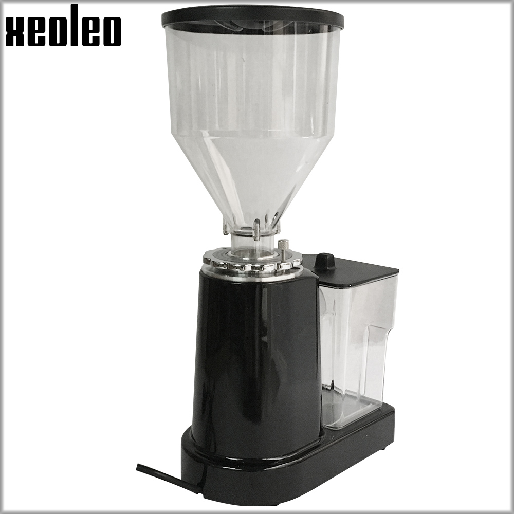 Image 5 - XEOLEO Electric Coffee grinder Turkish coffee grinder Coffee Milling machine Flat Burr grinder Espresso maker Miller Black/Redelectric coffee grindercoffee grinderburr grinder -
