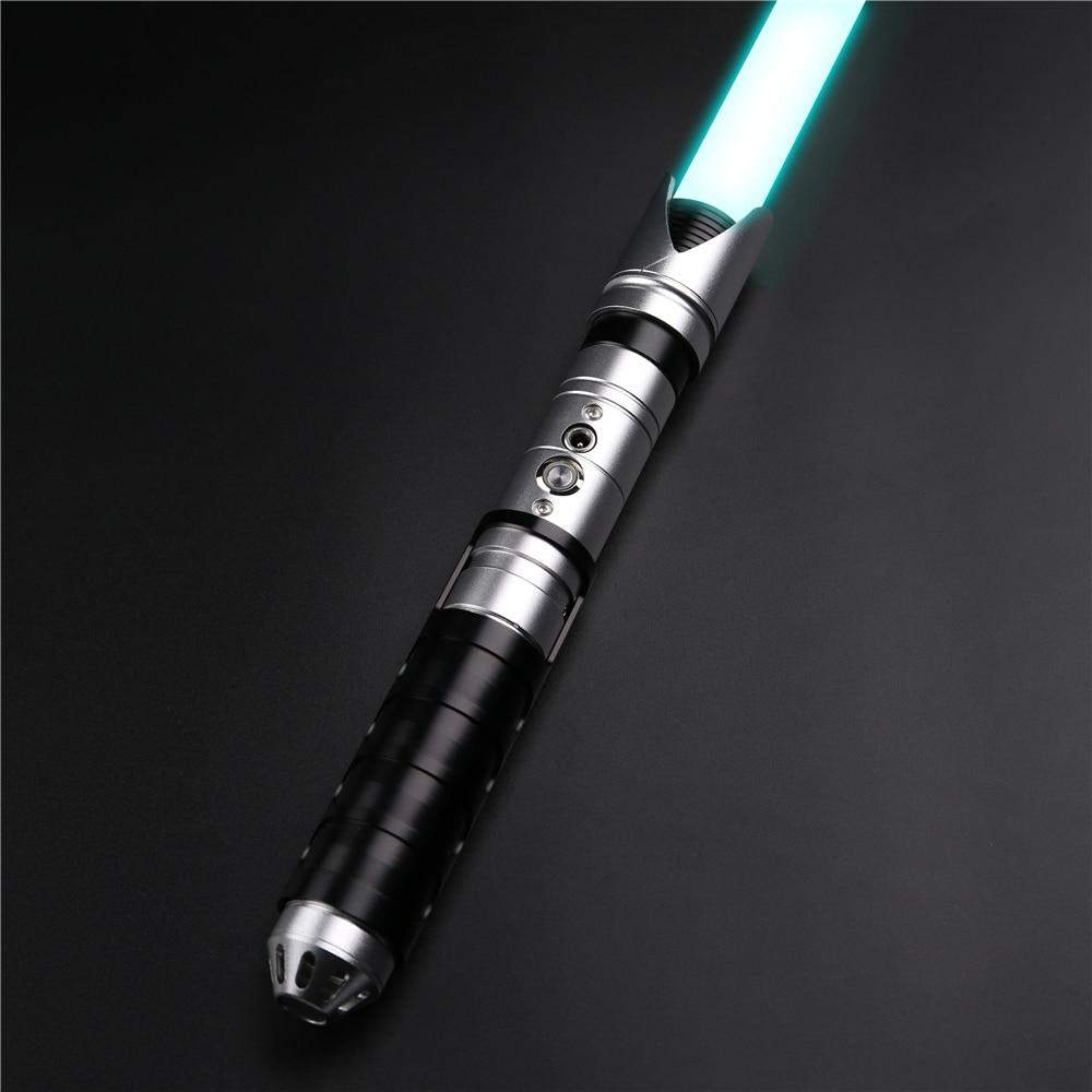X-TREXSABER Light Sword FOC and Blaster for Skywalker 6 Sound Fonts 12 Color Changing 1 Inch Diameter NEW Saber