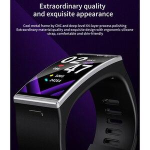 Image 2 - D M12 IP68防水スマート腕時計メンズレディース1.9インチ170*320画面スマートウォッチスポーツ心拍数血圧バンドアンドロイドios