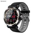 Мужские и женские Смарт-часы SENBONO  IP68 Водонепроницаемые Смарт-часы с пульсометром  фитнес-трекер  часы для телефонов IOS и Android  2020