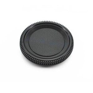 Image 5 - 50Pairs camera Body cap + Rear Lens Cap Hood Protector voor nik & n SLR/DSLR