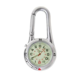 Karabinek na zewnątrz zegarki fluorescencyjne plecak klamra wspinaczka skałkowa zegarek świetlny tanie i dobre opinie OOTDTY CN (pochodzenie)