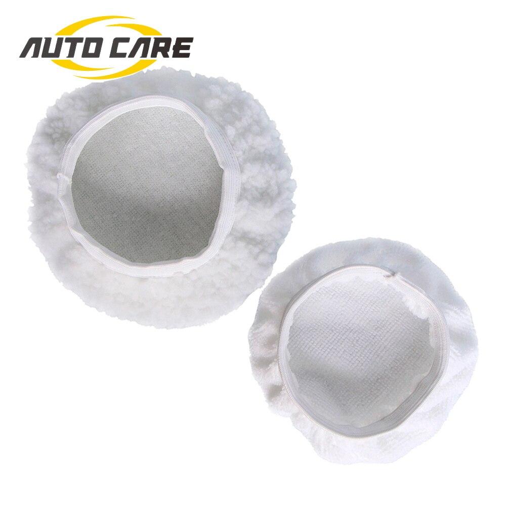 5PCS Waxing Polishing Bonnet Buffer Polishing Pad 5-6//7-8//9-10inch Car Polisher