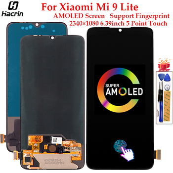 AMOLED Display For Xiaomi Mi 9 Lite LCD Display Touch Screen Digitizer Assembly Replacement For Xiaomi Mi 9 Lite Screen 6.39inch