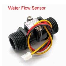 Przepływomierz przepływomierz czujnik przepływu wskaźnik licznik Caudalimetro G1/2 0,5 25 l/min 1,2 mpa F = 6 * Q czujnik przepływu