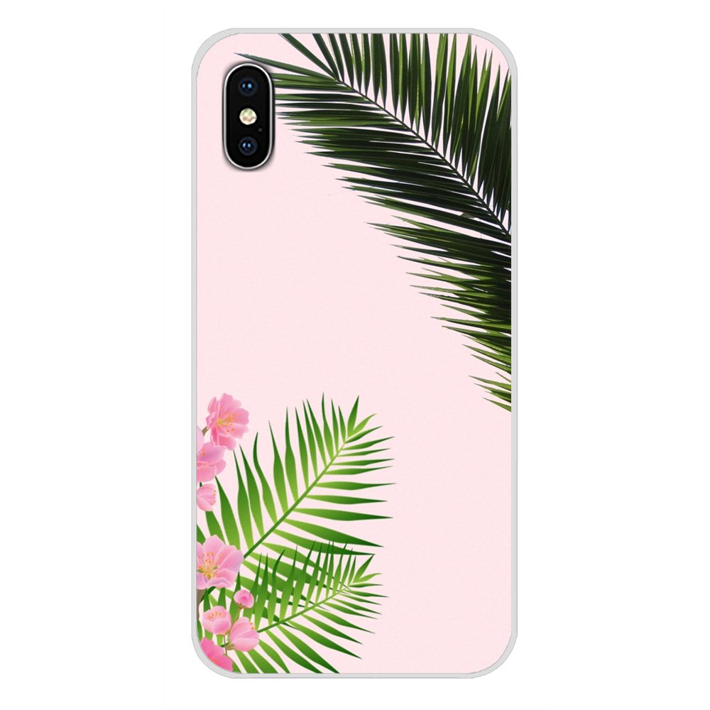 Accessories Phone Cases Covers For Samsung Galaxy S2 S3 S4 S5 Mini S6 S7 Edge S8 S9 S10E Lite Plus Palm Tree Leaves Plant Flower