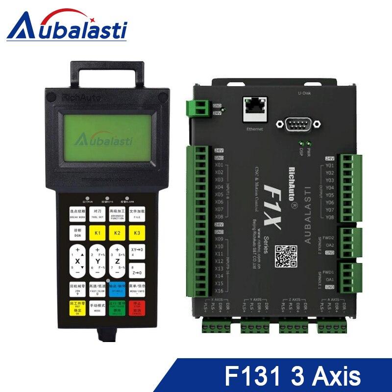 Aubalasti RichAuto DSP F131 Управление; 3 оси движения Управление Системы ЧПУ DSP Управление; Заменить A11 B51 для гравировальный станок с ЧПУ