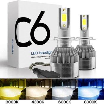 gztophid new car styling headlight 3 inches bixenon lens koito q5 hi lo bifocal projector lens for h1 h4 h7 h11 9005 9006 2x H7 LED H11 H4 Hi/Lo H1 H3 H8 HB1 HB3 HB4 HB5 HIR2 H13 H27 9005 9006 Car Headlight Bulbs 3000K 6000K 8000K COB C6 car lights