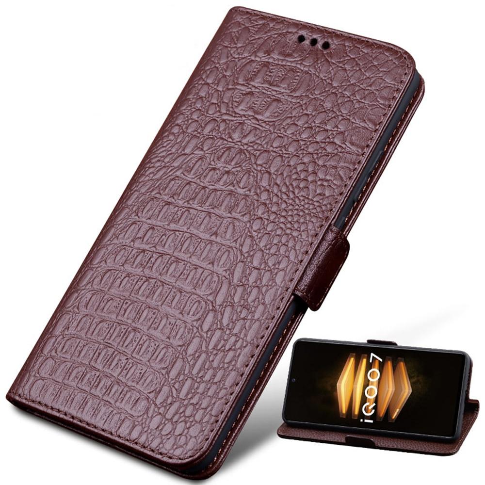 Genuine Leather Booklet Wallet Flip Phone Case For Nokia X20 5G/Nokia X10 5G/Nokia 8 V 5G Phone Bag Kickstand Function Funda,