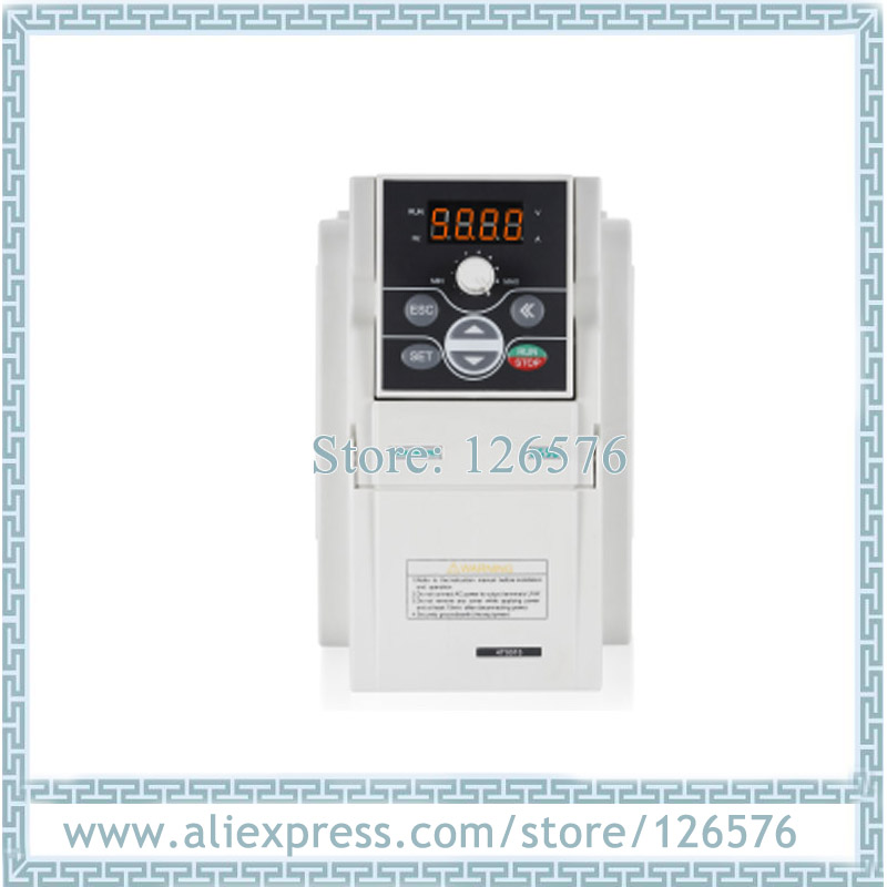 Novo original sunfar vfd inversor E550-2S0004 400 w ac220v inversor de freqüência 1000 hz