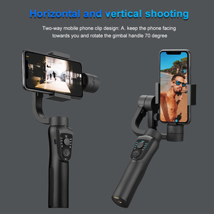 Image 5 - EKEN S5B 3 Axis Handheld gimbal stabilizer cellphone Video Record Smartphone Gimbal For phone Action Camera VS H4