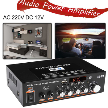 12V/220V 360W G919 Mini Amplificador   5