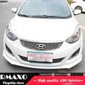 Для Elantra ABS задний бампер диффузор протектор для 2012-2015 Hyundai Elantra Боди Комплект бампер задний передний Лопата задний спойлер