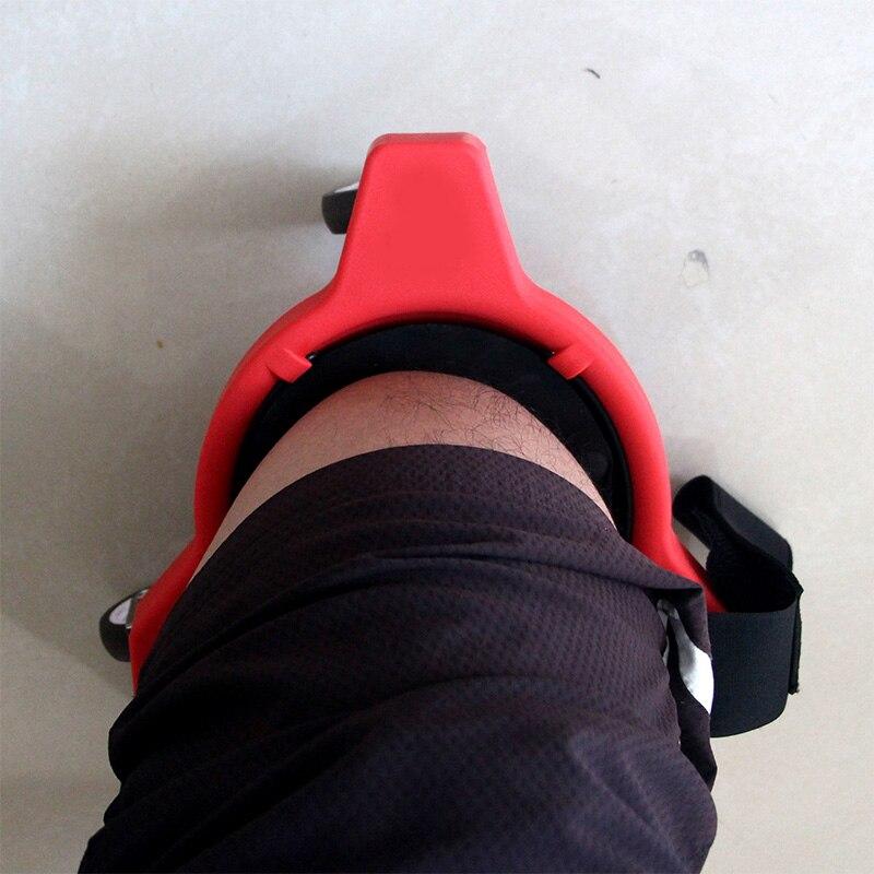 360 ° наколенник с встроенной пеной прокладки платформы колеса на коленях колодки работы колеса наколенники колодки