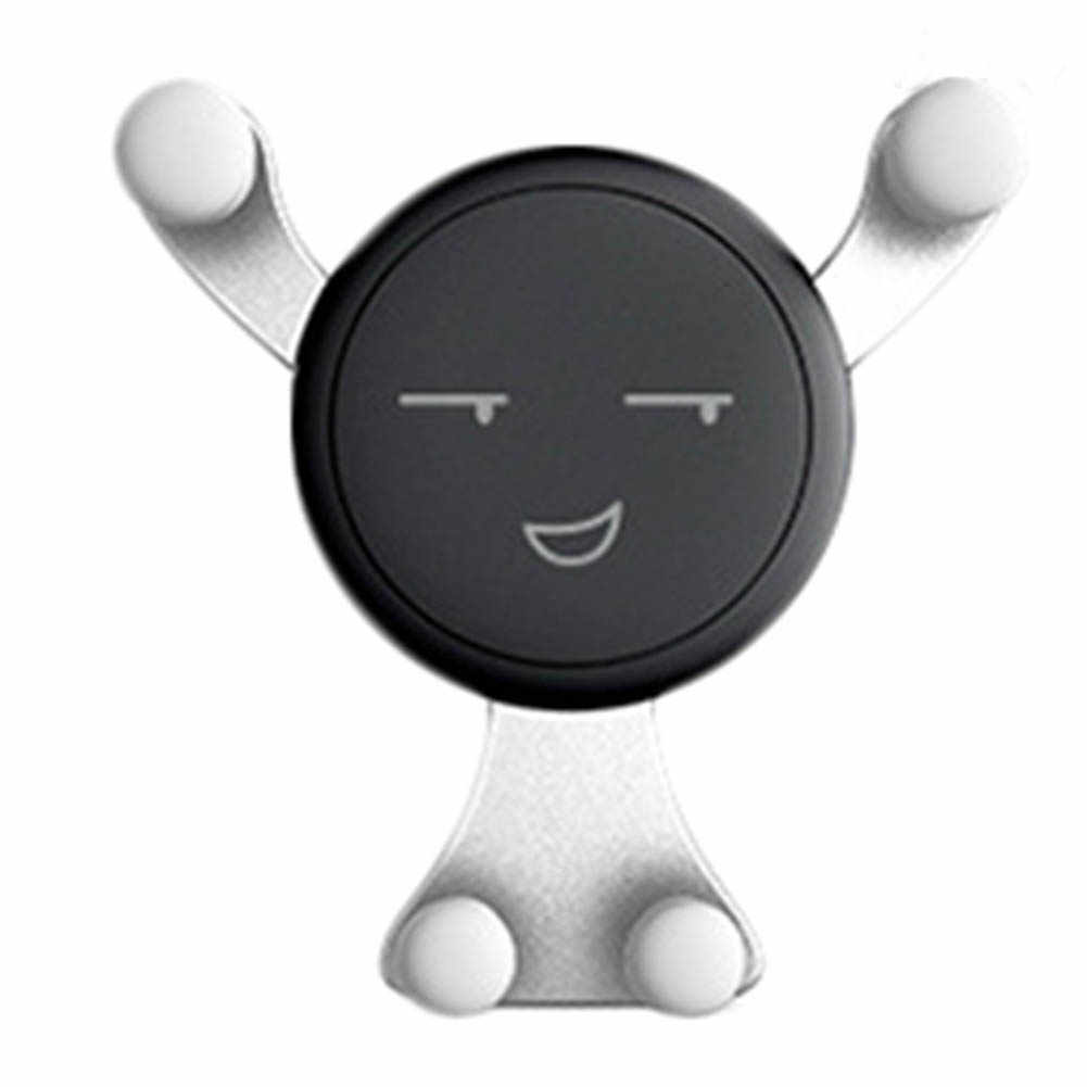 חדש Arriva l חיוך הכבידה אוניברסלי רכב אוויר Vent טלפון נייד Stand מחזיק הר ערש