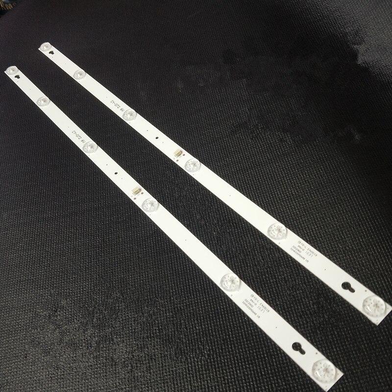 2pcs LED Backlight Lamp Strip 6 Lamp  For L32P1A D32A810 L32P2D32A810/L32F1B 4C-LB3206-HR07