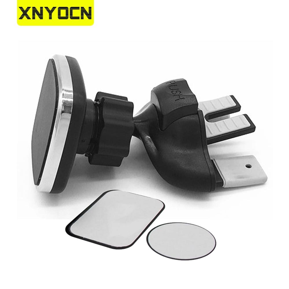 Магнитный держатель Xnyocn, автомобильный слот для компакт-дисков, подставка для вентиляционного отверстия, кронштейн для сотового телефона, ...