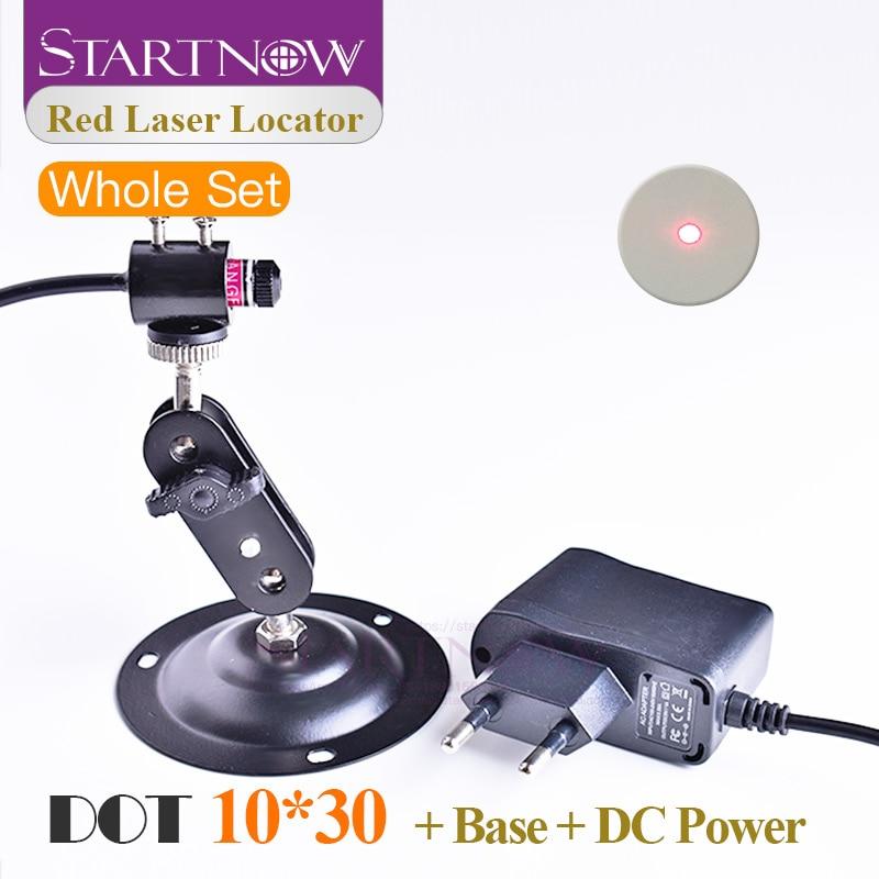 Set 10*30 With Mount Power Supply Dot Laser Module Beam Locator Pointer Red Laser Positioner For Laser Marking Machine Industry