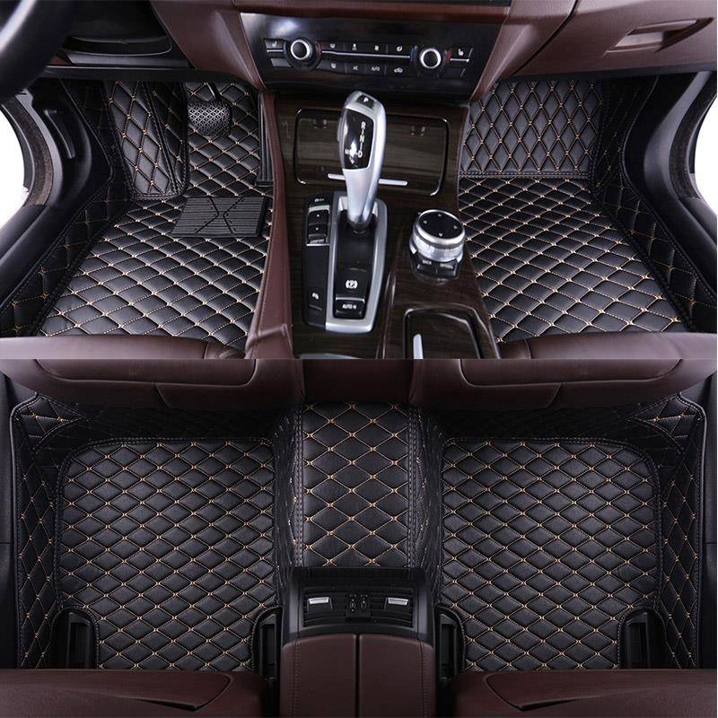 Car-Floor-Foot-Mat Auto Q5 Tt Mk1 Audi Sportback Custom for A3 A5 A1 A2 A4 A6 A7 A8 Q3 title=