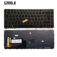 цены GZEELE Spanish New keyboard FOR HP EliteBook 820 G1 820 G2 backlight With pointing sticks Laptop Keyboard SP layout