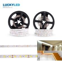 LUCKYLED 5M/ROLL Led Strip light DC 12v SMD 2835 5050 60Leds/m Not Waterproof Flexible Led Stripe RGB Ribbon Lights Diode Tape
