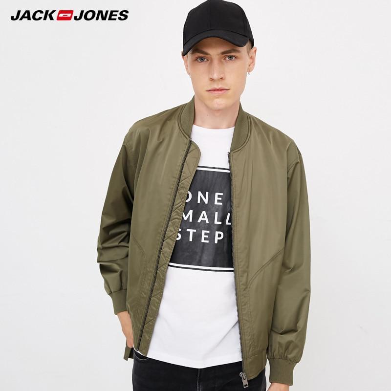 Jack  Jones Mens Money Printed Baseball Jacket|  218321549