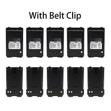 10 Pcs 2200mAh BP-265 Li-Ion Battery Extended Replacement for ICOM IC-T70A IC-T70E IC-V80 IC-V80E Two Way Radio six way multi charger station for handheld radio ic f33gt ic f43gt ic f12 ic f24 ic f16 ic f26