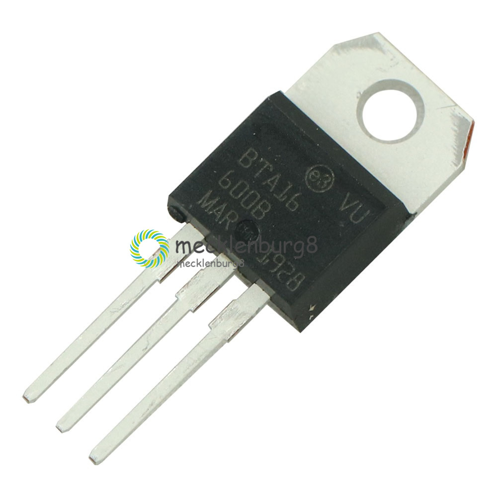 BTA16-600B Triac Silicon Controlled Rectifier SCR TO-220