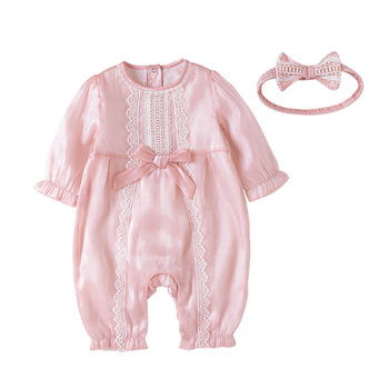 Vlinder Baby Girl Rompers Newborn Clothes Long sleeves Cotton Jumpsuit Spring Autumn Infant 6M~24M