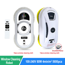 Vacuum-Cleaner Glass-Cleaning-Machine Window-Cleaning-Robot Remote-Control Electric