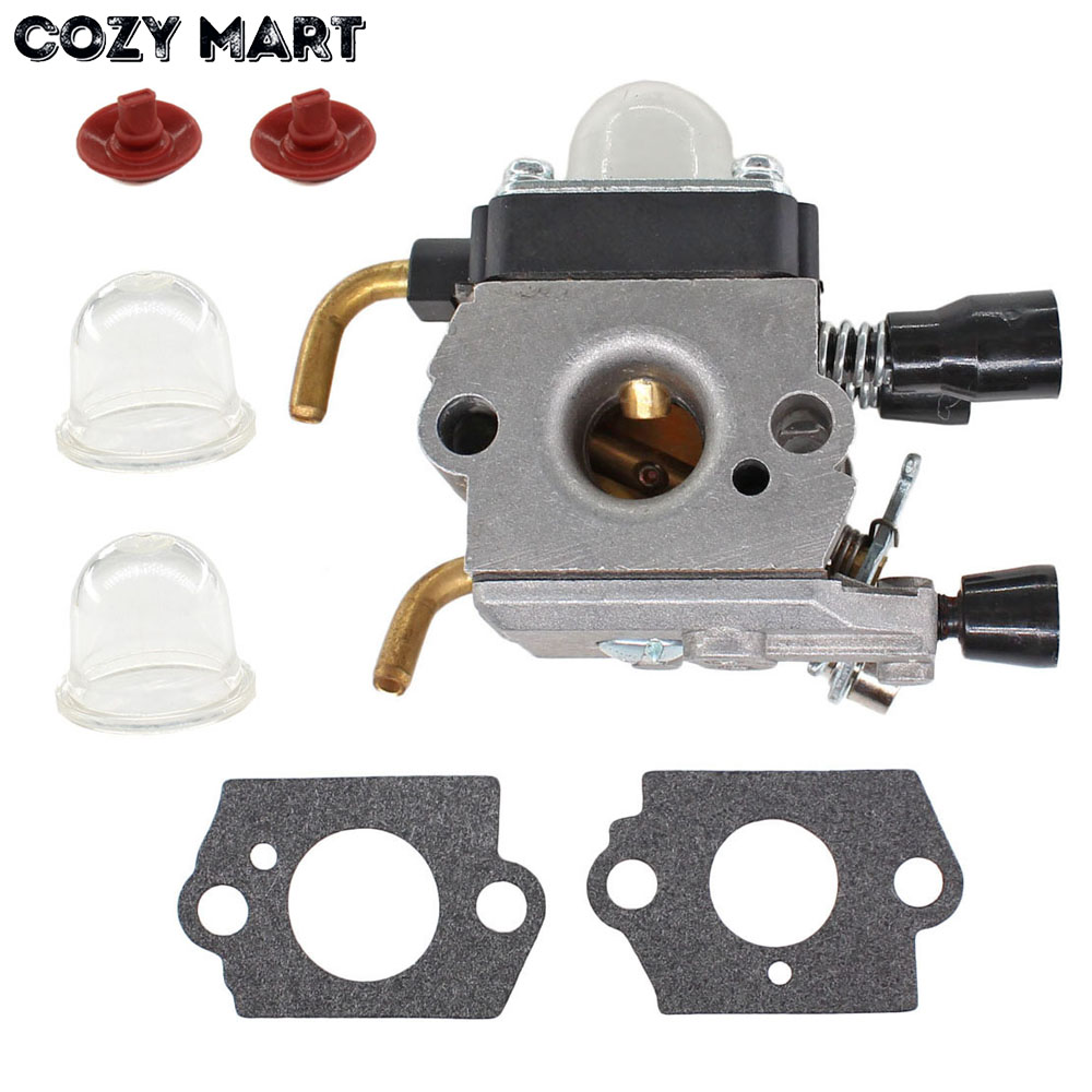Carburateur Carb parts pour Stihl FS38 HS45 FS45 FS46 FS55 KM55R FS74 FS75 FS76