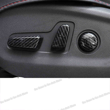 Lsrtw2017 Carbon Fiber Abs Car Seat Automatic Adjust Cover Trims for Hyundai Tucson 2015 2016 2017 2018 2019 2020 Accessories lsrtw2017 abs car rearview rain shield strip trims for hyundai tucson 2015 2016 2017 2018 2019 2020