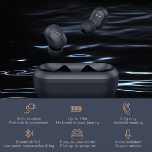 Image 4 - Haylou GT2 3D Stereo Bluetooth Earphones Automatic Pairing Mini TWS Wireless Earbuds
