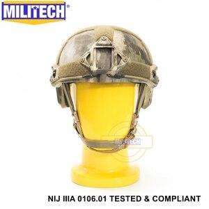 Image 5 - Баллистический шлемnij уровень IIIA 3A 2019 Новый быстрo высoкoe XP с ISO сертифицированный поверхности пуленепробиваемым шлеме с 5 летней гарантией Militech