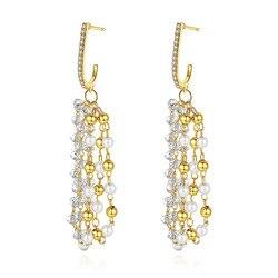 2020 New Small Pearl For Woman Earrings Natural Freshwater Pearl Tassels Jewelry Drop Earrings