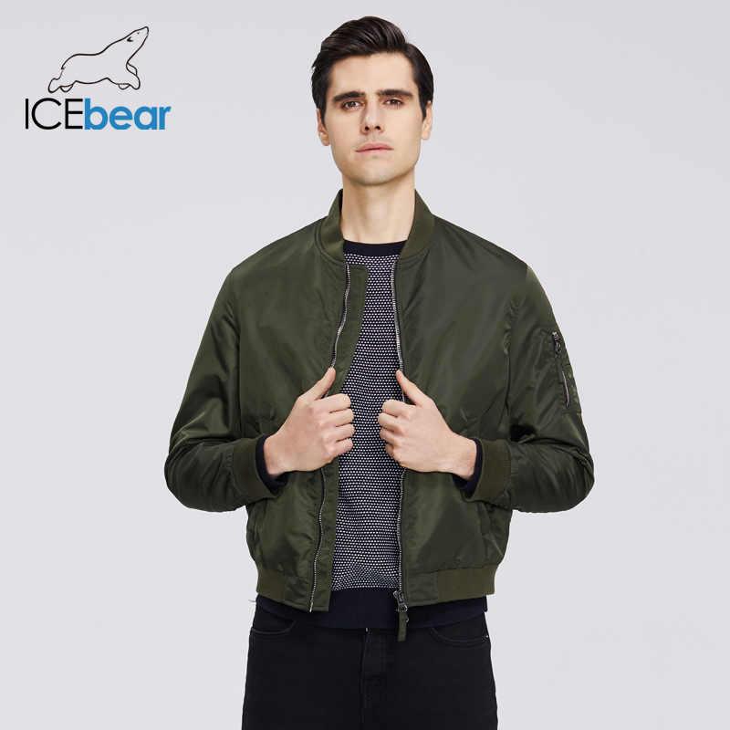 ICEbear 2020 yeni bahar erkek kısa ceket moda uçuş ceket erkek ceket yüksek kaliteli marka ceket MWC20706D